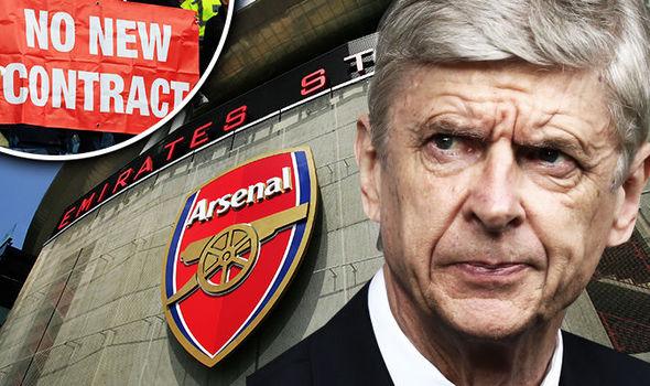 Wenger telah mengumumkan bahwa ia akan mengundurkan diri sebagai pelatih Arsenal pada akhir musim