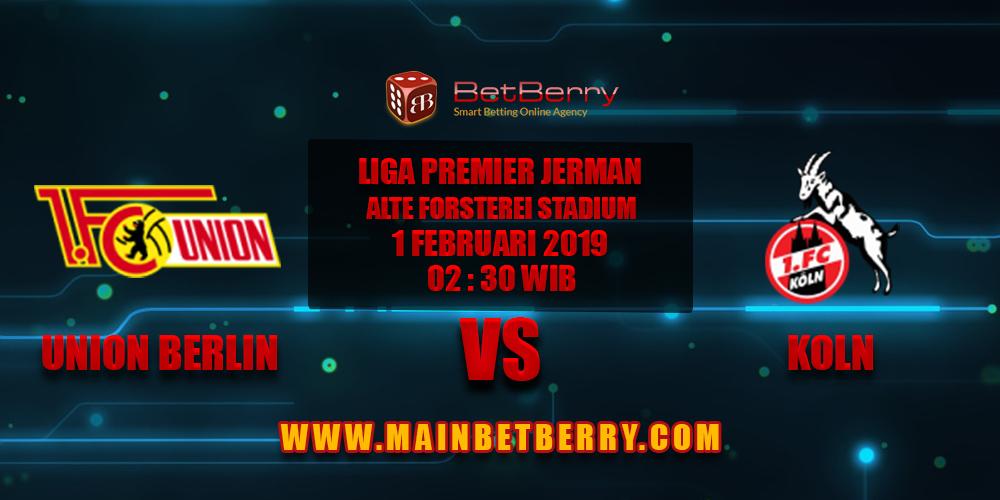 Prediksi Bola Union Berlin vs Koln 1 Februari 2019