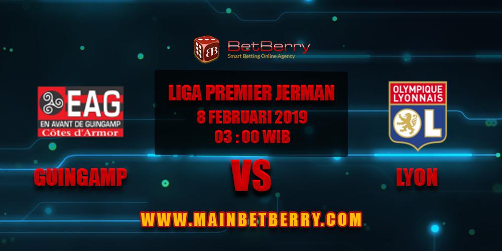 Prediksi Bola Guingampt vs Lyon 08 Februari 2019