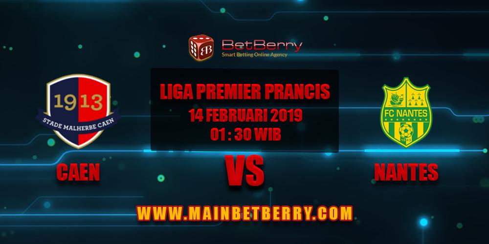 Prediksi Bola Caen vs Nantes 14 Februari 2019