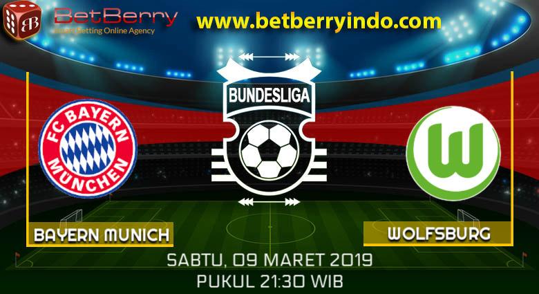 Prediksi Bola FC Bayern Munchen vs Wolfsburg 9 Maret 2019