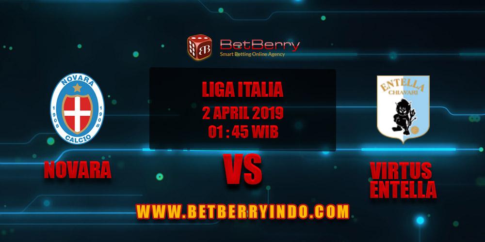 Prediksi Bola Novara vs Virtus Entella 2 April 2019