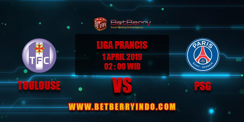Prediksi Bola Toulouse vs PSG 01 April 2019