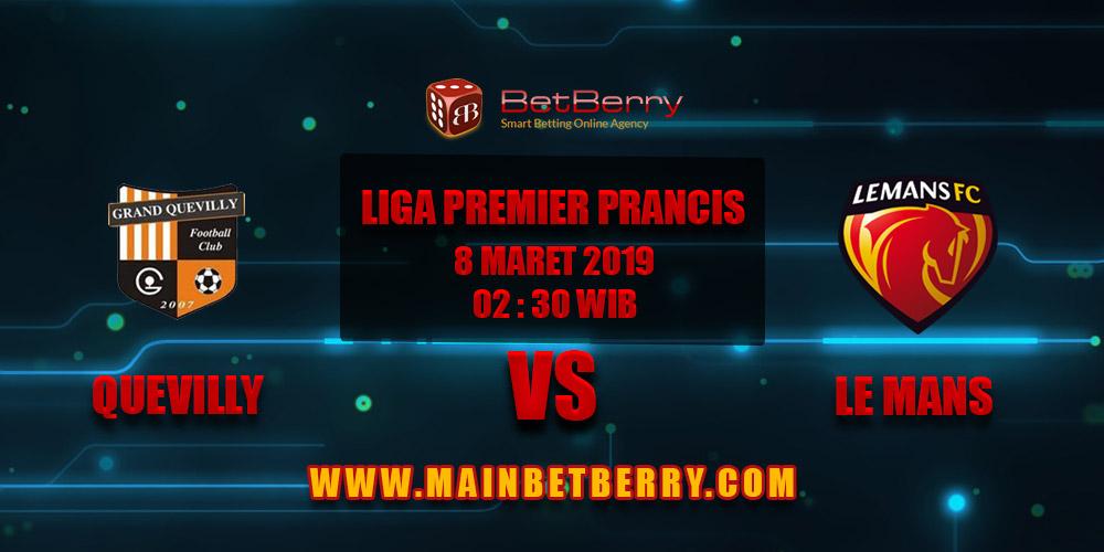 Prediksi Bola Quevilly vs Le Mans 8 Maret