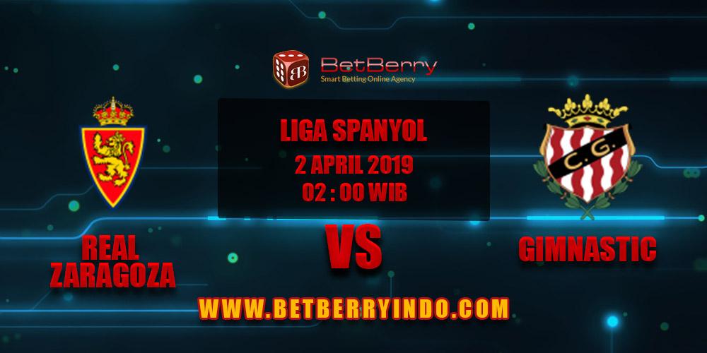 Prediksi Bola Real Zaragoza vs Gimnastic 2 April 2019