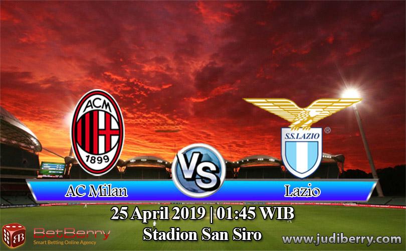 Prediksi Bola Milan vs Lazio 25 April 2019