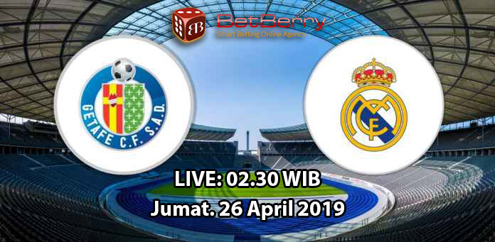 Prediksi Bola Getafe vs Real Madrid 26 April 2019