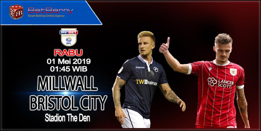 Prediksi Bola Millwall vs Bristol City 1 Mei 2019
