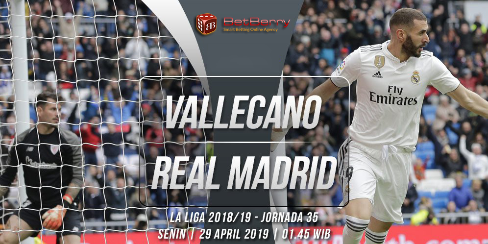 Prediksi Bola Rayo Vallecano vs Real Madrid 29 April 2019