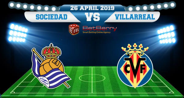 Prediksi Bola Real Sociedad vs Villarreal 26 April 2019