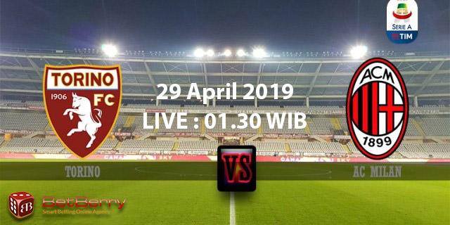 Prediksi Bola Torino vs Milan 29 April 2019