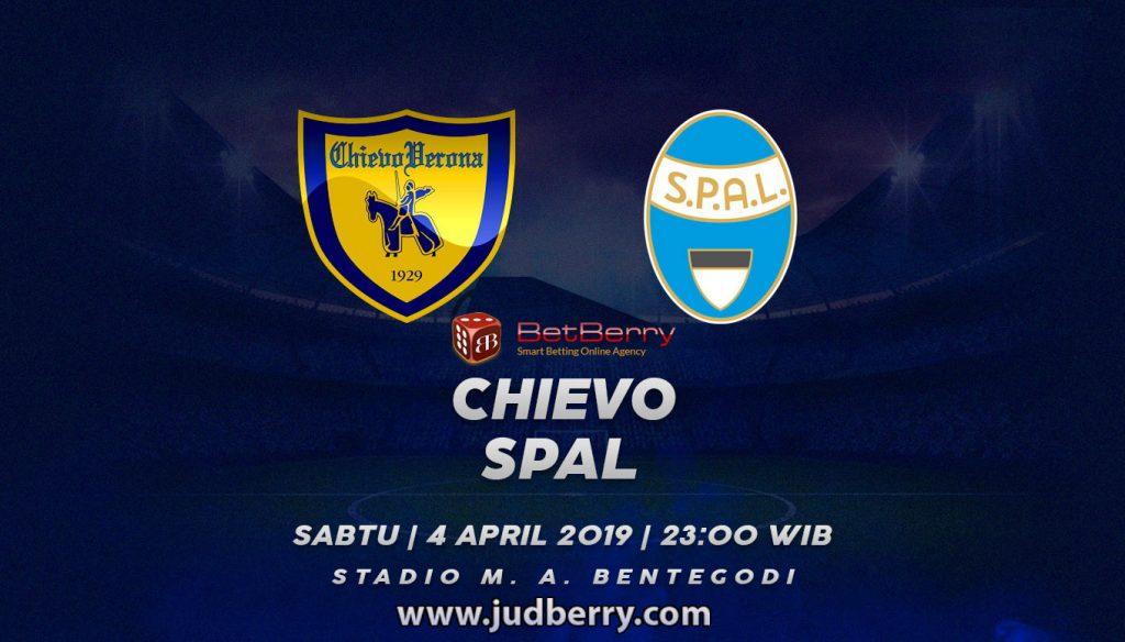 Prediksi Bola Chievo vs SPAL 4 Mei 2019