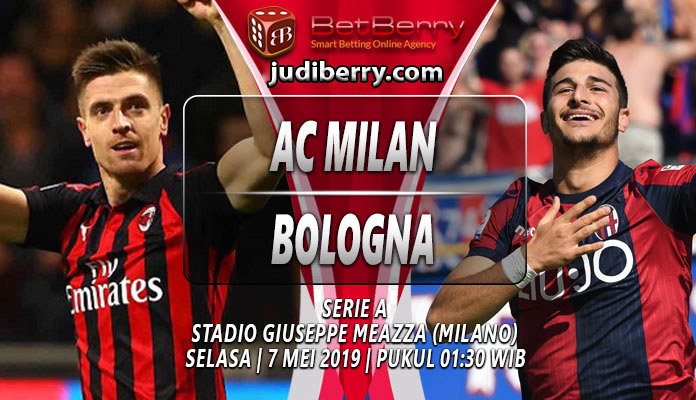 Prediksi Bola Milan vs Bologna 7 Mei 2019