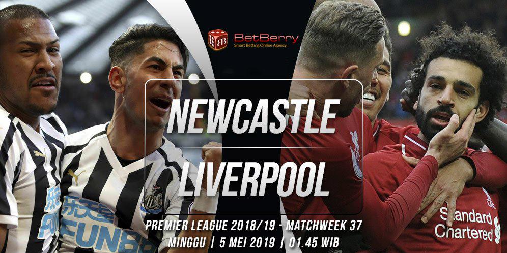 Prediksi Bola New Castle United vs Liverpool 5 Mei 2019