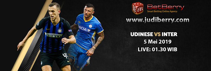 Prediksi Bola Udinese vs Inter Milan 5 Mei 2019