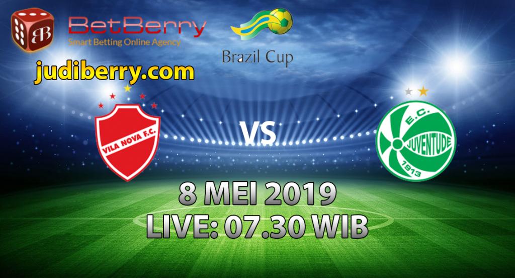 Prediksi Bola Vila Nova vs Juventude 8 Mei 2019